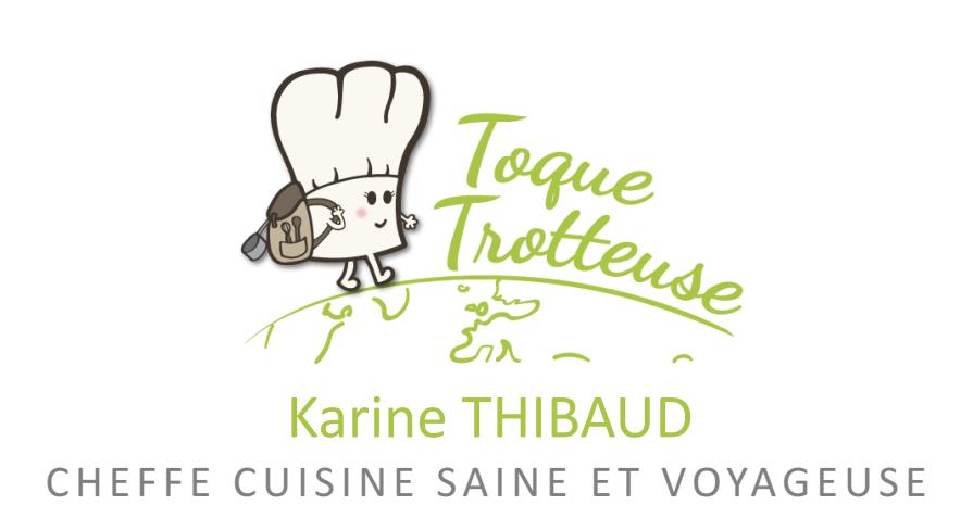 toque trotteuse cheffe cuisine saine et voyageuse